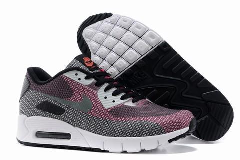 chaussure en cuir nike air max 90 premium pour homme