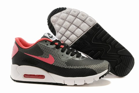 femme nike air max 90 chaussures blanc gris argent