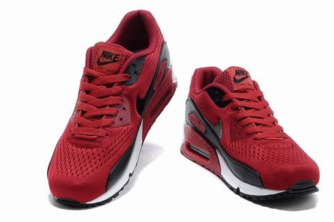 Nike Air Max 90 Femme & Homme Noir rouge
