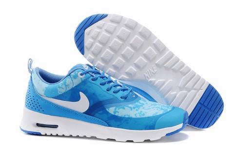 Nike Air Max Thea Soldes Bleu